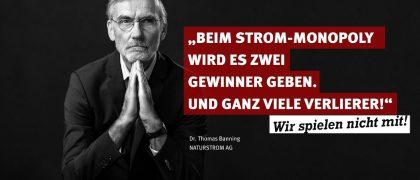 Dr. Thomas E. Banning | NATURSTROM AG