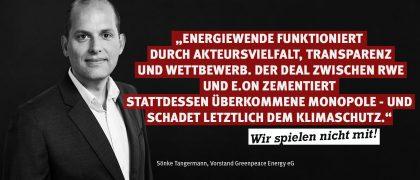 Sönke Tangermann | Greenpeace Energy eG