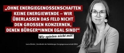 Laura Zöckler | Heidelberger Energiegenossenschaft