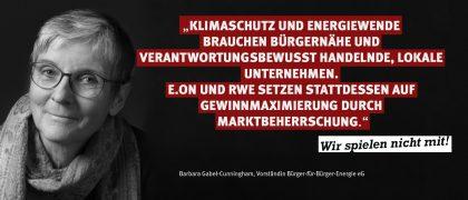 Barbara Gabel-Cunningham | Bürger-für-Bürger-Energie EG