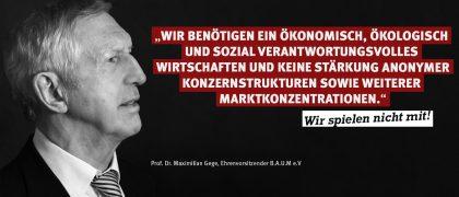 Prof. Dr. Maximilian Gege | B.A.U.M. e.V.