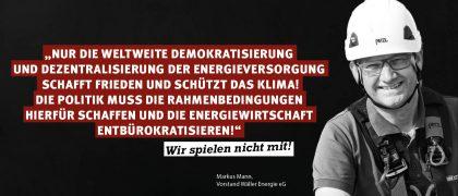Markus Mann | Wäller Energie EG